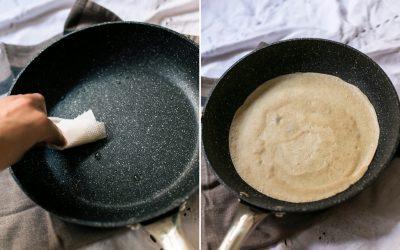 Tortitas de avena fitness